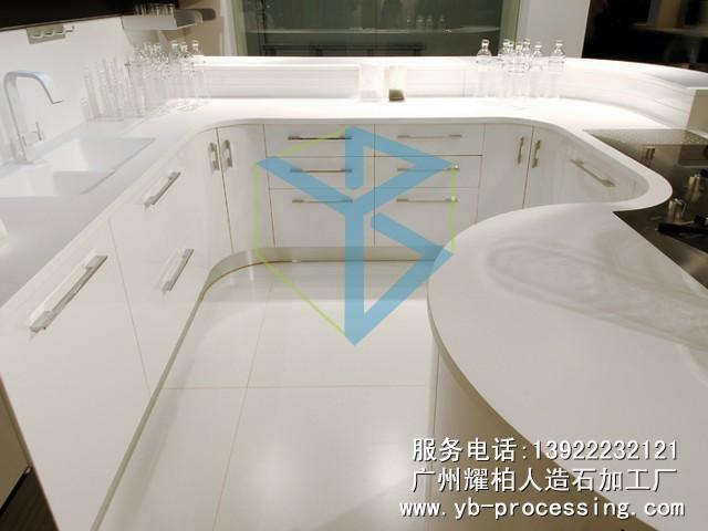 LG人造石厨房台面