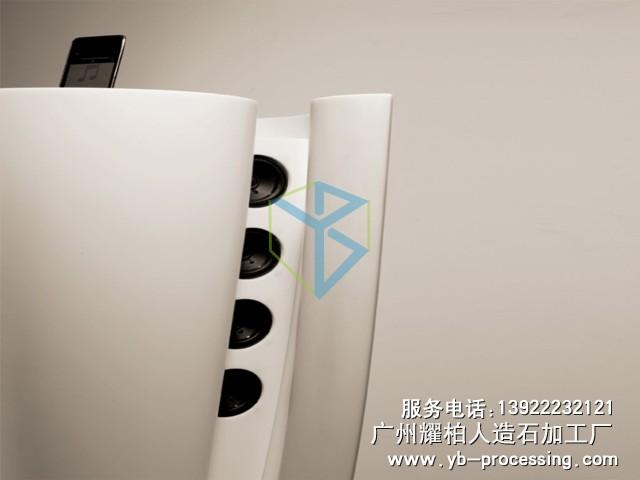 人造石时尚音箱 LG人造石音箱