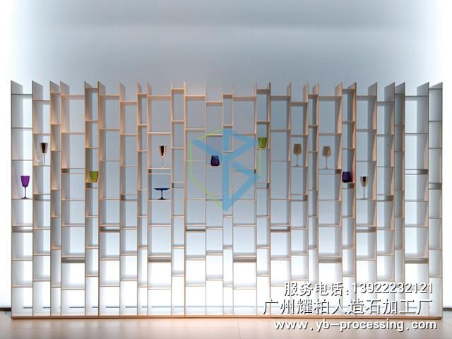 人造石展示柜 LG人造石展示柜,时尚造型 简约大方