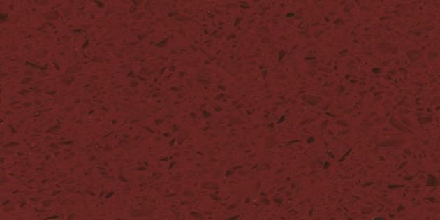 OQ1011 水晶红   欧伯利-石英石板