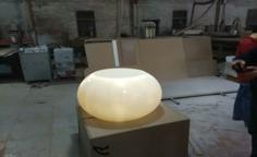 人造石灯罩 人造石艺术品
