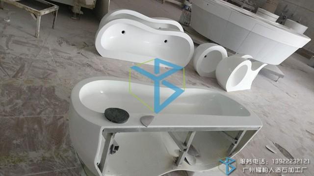 批量定制加工设计人造石洗手盆